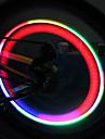 Lumière colorée Roue de bicyclette