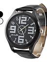 Men's Simple Design PU Analog Quartz Wrist Watch (Assorted Colors) Cool Watch Unique Watch