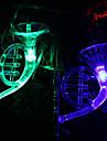 6M 32-светодиодный музыкальный инструмент Shaped Красочный свет струнного Fairy лампы на Рождество (220)