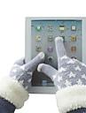 Пушистые сенсорные перчатки (разные цвета)