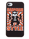 Funny Gangnam Style Psy Pattern Hard Case for iPhone 4