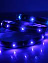 Impermeável 120 centímetros 48-LED azul LED Light Strip (12V)