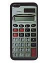 калькулятор шаблон жесткий футляр для iphone 5/5s