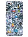 абстрактные картины шаржа жесткий футляр для iphone 5/5s