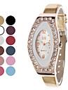 Femmes Modèle à la mode PU Montre analogique bracelet à quartz (couleurs assorties)