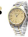 Unisexe Sports Design alliage analogique poignet montre à quartz (couleurs assorties)