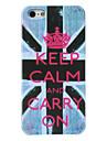 Case Dura para iPhone 5 - Bandeira Britânica