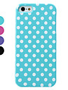 Dot Pattern Detachable Hard Case for iPhone 5/5S (Assorted Colors)