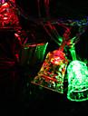 7M 30-LED-que psca em forma de sino Luz LED colorido Faixa Lâmpada de fadas para Decoração Festival (220V)