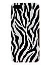 zebra-stripe estojo rígido padrão para o iphone 5/5s