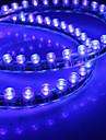 Водонепроницаемый 48см 48-светодиодный Синяя светодиодная лента для автомобиля (12В)
