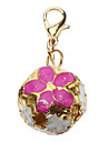 Dog tags Hollow Out Flower Style Bell Collar Charms for Dogs Cats