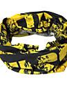 Удобная шарф Велоспорт (черная и желтая)