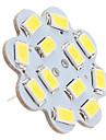 6W G4 Потолочный светильник 12 SMD 5630 560 lm Естественный белый DC 12 V