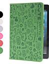 Piirros kuvio PU-nahka kuori ja jalusta iPad minille (värivalikoima)
