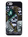 Доллар череп рисунок головы жесткий футляр для iphone 5/5s