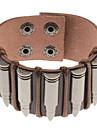Пуля Pattern Кожаный браслет