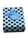 Коробки для бижутерии Бумага Синий
