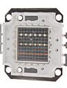 DIY 20W RGB Свет площади Комплексная светодиодный излучатель