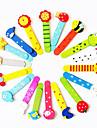 Радостные разноцветные закладки с линейкой