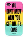 Stripe caso de design rígido para iPhone 4/4S