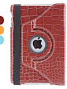 Crocodile Skin PU Leather Case w/ Stand for iPad mini 3, iPad mini 2, iPad mini (Assorted Colors)