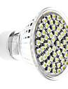 Светодиодные лампы, природный белый свет, GU10 4W 60x3528 SMD 300-350LM 6000-6500K (220-240)