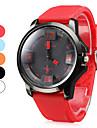 남자의 실리콘 아날로그 쿼츠 손목 시계 (모듬 색상)