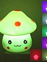 Adorável Cogumelo estilo colorido luz da lâmpada LED Night (3xLR44)