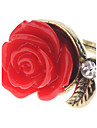 Z&X® 빈티지 스타일의 빨간색 링 장미