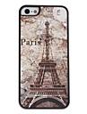 용 아이폰5케이스 패턴 케이스 뒷면 커버 케이스 에펠탑 하드 PC iPhone SE/5s/5