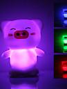 Светильник ночной светодиодный в форме милой свиньи (3xLR44)