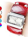 Casual mulheres Plástico Estilo analógico pulseira relógio de quartzo (cores sortidas)