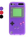 Cas de conception Game Boy souple pour iTouch 5 (couleurs assorties)