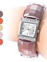 Женская мода Стиль Пластиковый аналоговые кварцевые часы браслет (разных цветов)
