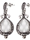 Z&X®  Vintage Style Water-drop Shape Opal Earrings