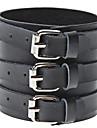 Homme Bracelets Style Punk Cuir Tissu Bijoux Pour Sports