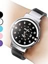 Femmes Style Casual Quartz analogique Bracelet en acier (couleurs assorties)