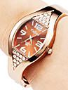 Women's Watch Diamond Decor Bronze Steel Cool Watches Unique Watches Fashion Watch