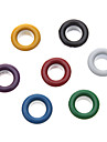 8mm Round Colorful Eyelets Metal Rivet (Contain 100 Pics)