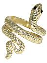 Coiled Snake Alloy Ring(Golden)