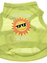 Verano - Verde Terylene - Camiseta - Perros - XS / M / S / L