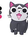 Lovely Cat Design Soft Case für Samsung Galaxy Hinweis 2 N7100 (verschiedene Farben)