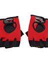 Haomai черный + красный Кожа PU + Mesh + Microfiber Ткань Нескользящая Классические перчатки
