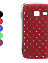 Lattice Style Hard Case with Diamond Surface for Samsung S6102 (Assorted Colors)