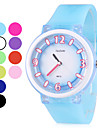 Unisex Rubber Quartz Analog Wrist Watch (Assorted Colors)