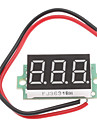 "0.36"" Display 3-Digit 3~30V Voltage Tester for 18650 Battery"