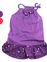 Slim Lady Bubble Pattern Dresses for Dogs (XS-XL,Assorted Color)
