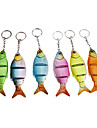 Lifelike Keychain Style de poisson (couleur aléatoire)