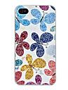 Capa Rígida com Padrão de Borboletas para iPhone 4/4S